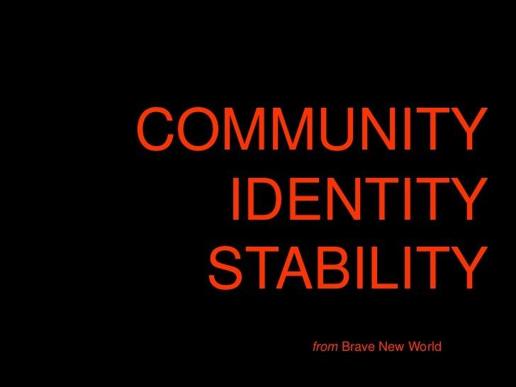 distortion in brave new world essay