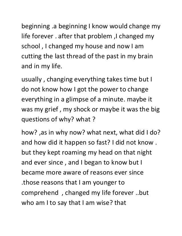 essay on the teacher