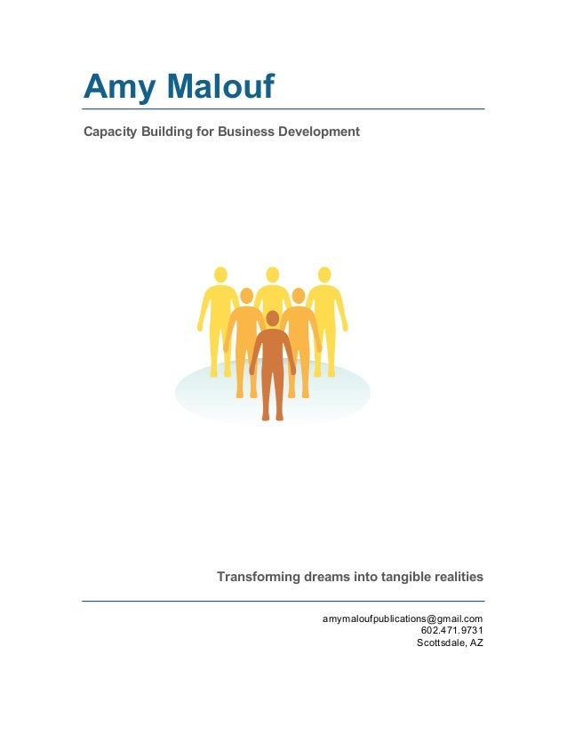Capacity Building for Nonprofit and Business Development