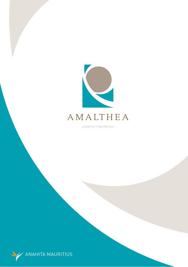 AMALTHEA, UN OASIS AU COEUR D'UN PARADIS   Amalthea se définit comme un quartier au centre du domaine   résidentiel d'Anah...