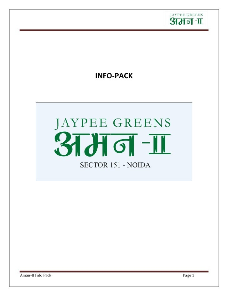 INFO-PACKAman-II Info Pack               Page 1