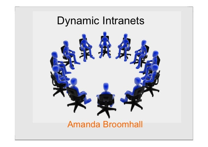 Dynamic intranetsDynamic Intranets                 Step Two DESIGNS  Amanda Broomhall