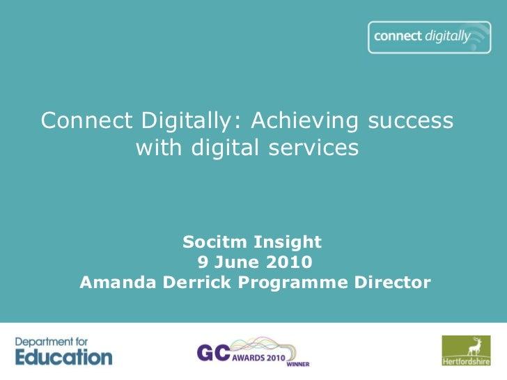 Achieving success with digital services for parents/carers – Amanda Derrick
