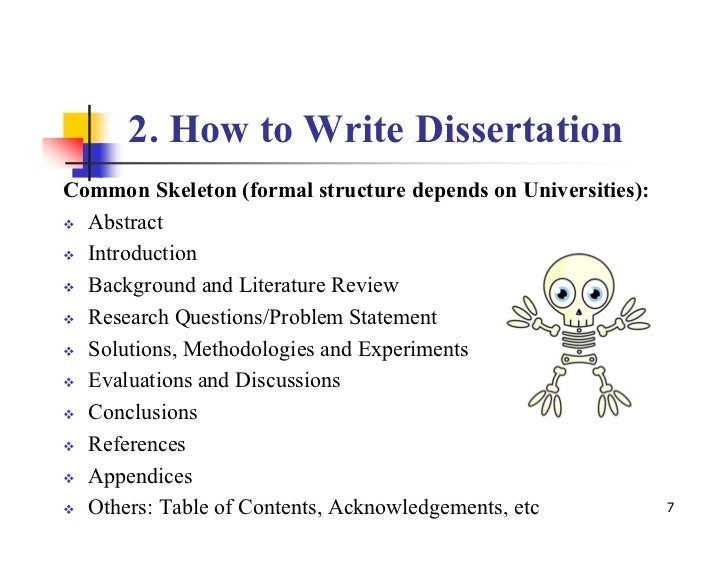 How To Write A Problem Statement For A Dissertation