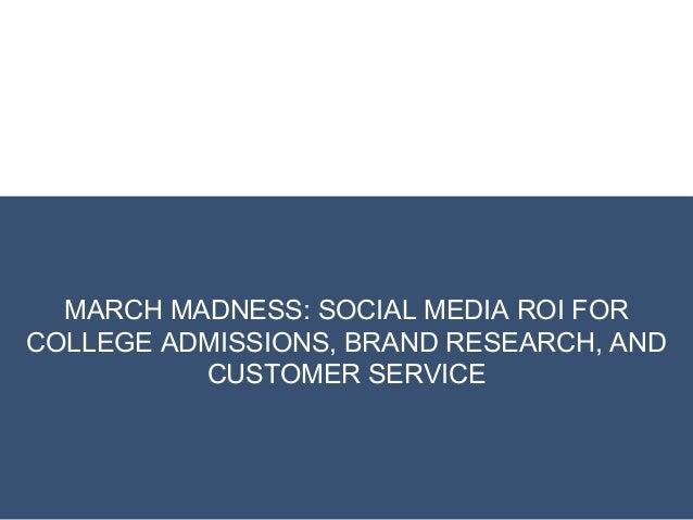 Social Media ROI for Higher Education Marketing