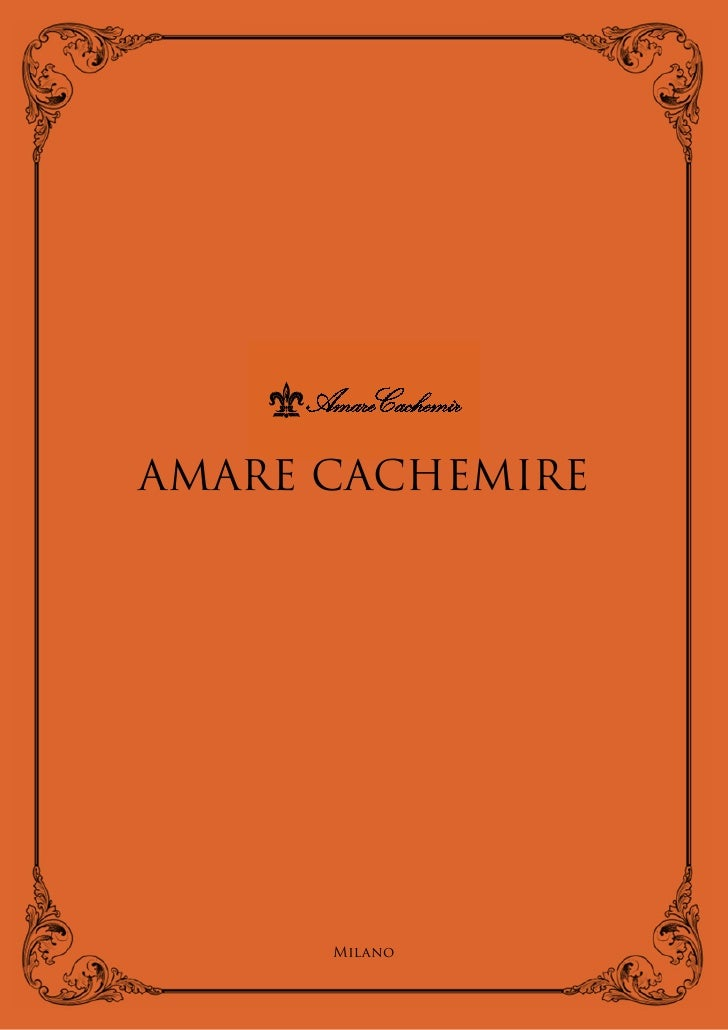 701                          702     AMARE CACHEMIRE           Milano
