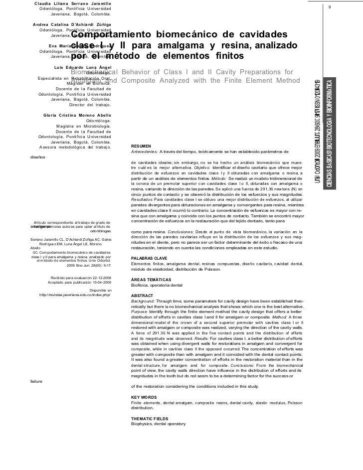 Claudia Liliana Serrano Jaramillo    Odontóloga, Pontif icia Universidad                                                  ...