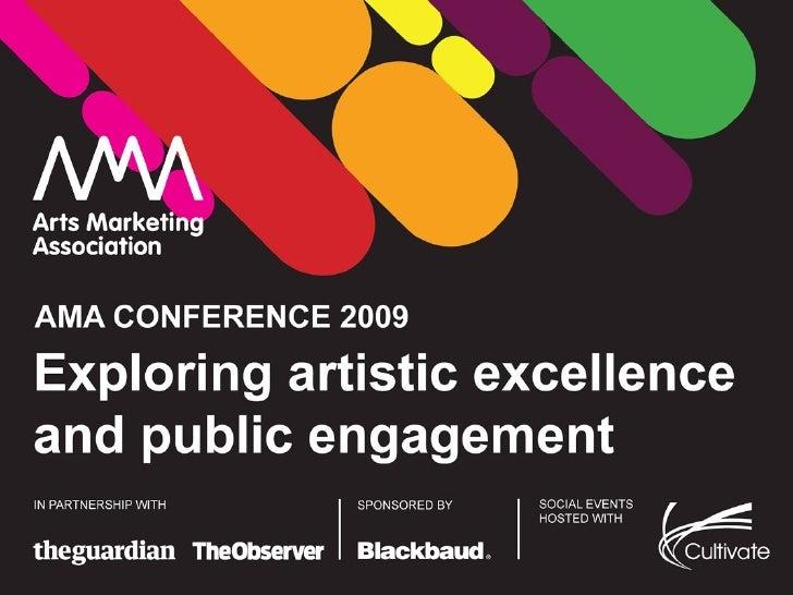 AMA2009 presentation to set the scene