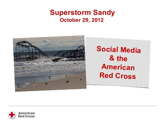 Superstorm Sandy & the Red Cross for AMA Atlanta