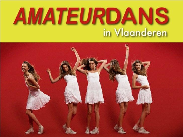 AMATEURDANS       in Vlaanderen