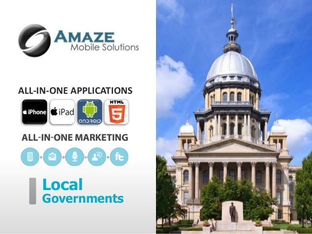 ALL-IN-ONE APPLICATIONS    Local    Governments