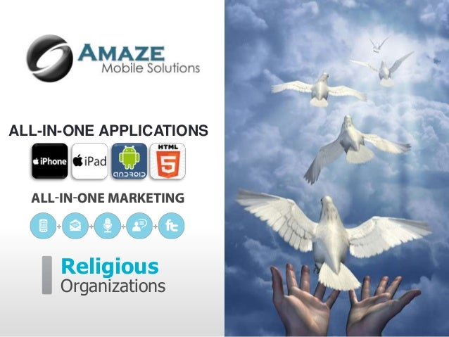 ALL-IN-ONE APPLICATIONS      Religious      Organizations