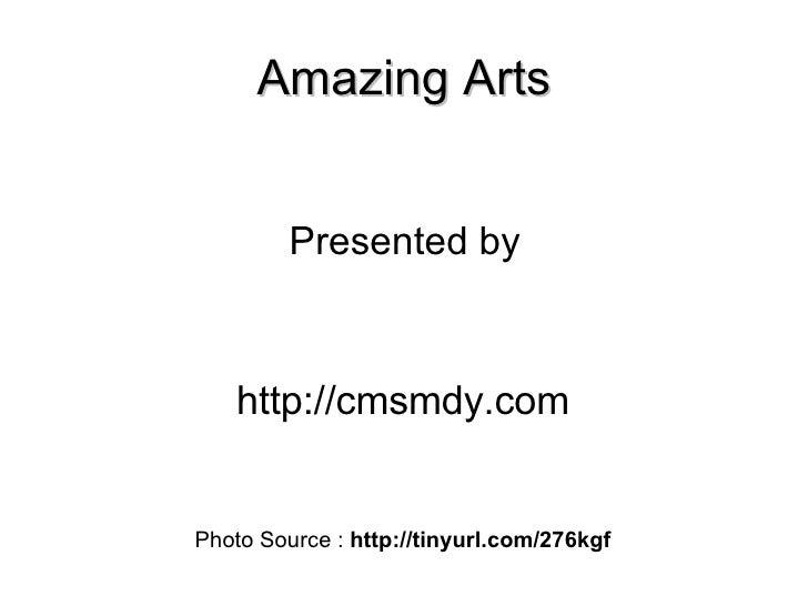 Amazing Arts