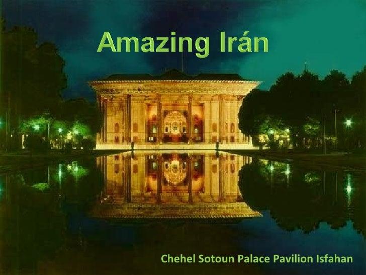 Chehel Sotoun Palace Pavilion Isfahan