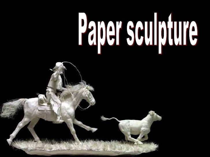 紙的藝術 Amazing-sculpturesdepapier