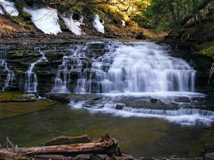 Amazing Beautiful Examples Of Flowing Water And Waterfall Photog
