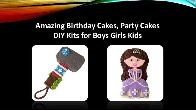 Amazing Birthday Cakes, Party Cakes DIY Kits for Boys ...