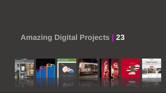 Amazing Digital Projects | 23