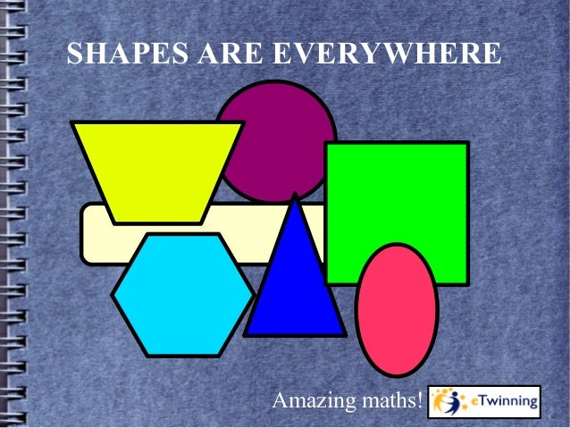 SHAPES ARE EVERYWHERE Amazing maths!