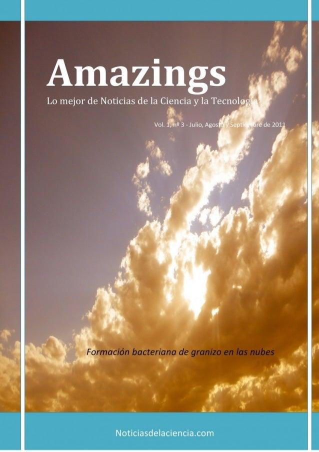 Amazings 3 - Julio Agosto Septiembre - 2011