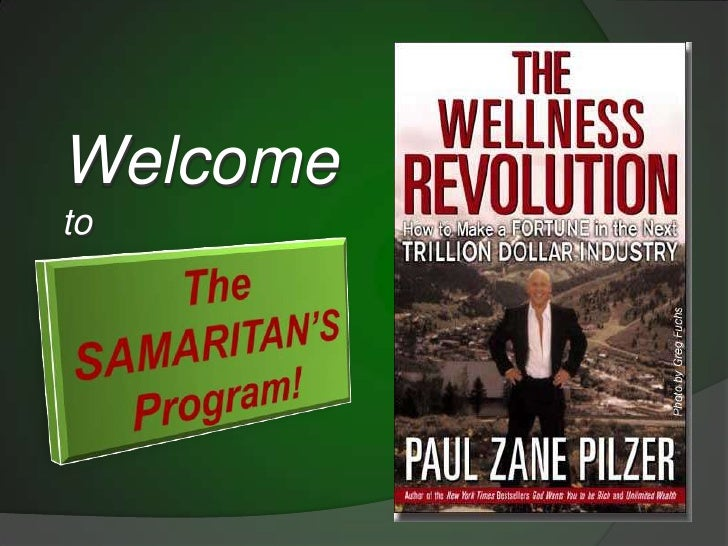Welcome <br />to<br />The SAMARITAN'S Program!<br />