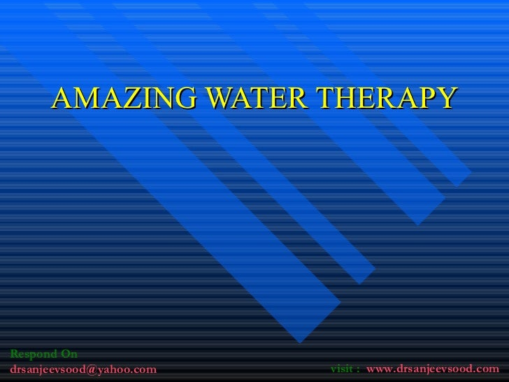 AMAZING WATER THERAPY