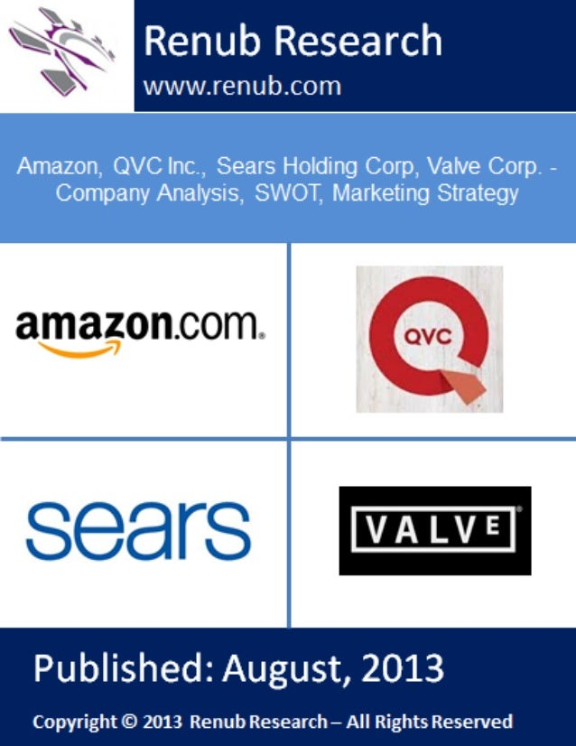 Amazon, QVC Inc., Sears Holding Corp, Valve Corp. - Company Analysis