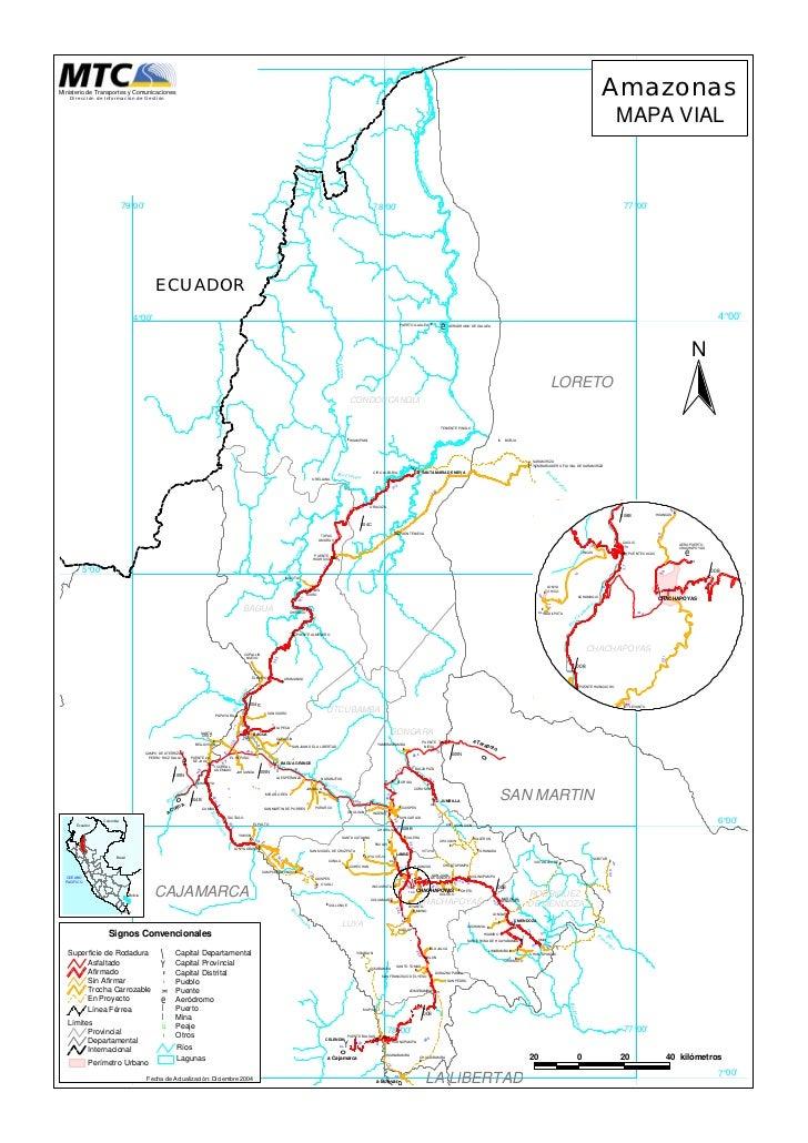 Carreteras del departamento de Amazonas
