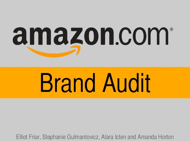 FINAL Amazon Brand Audit Keynote