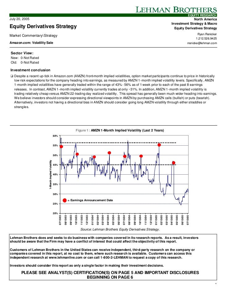 EQUITY RESEARCHJuly 20, 2005                                                                                              ...