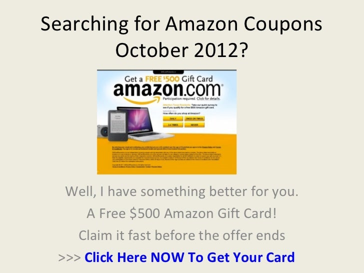 Amazon coupon code august 2018