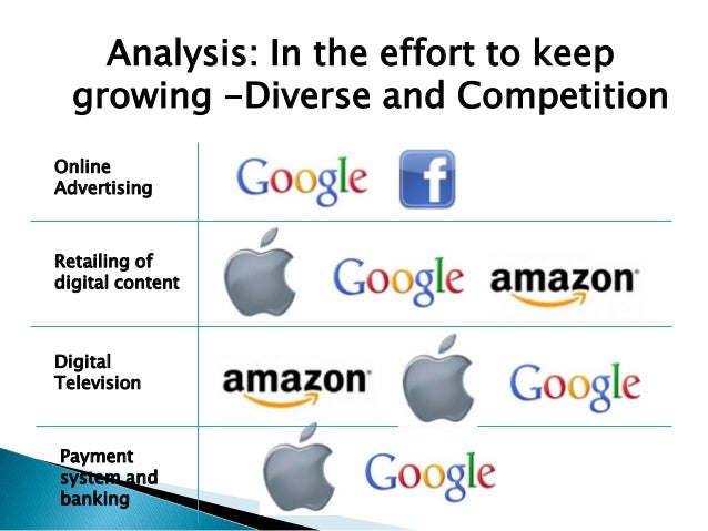 amazon apple facebook and google case study analysis