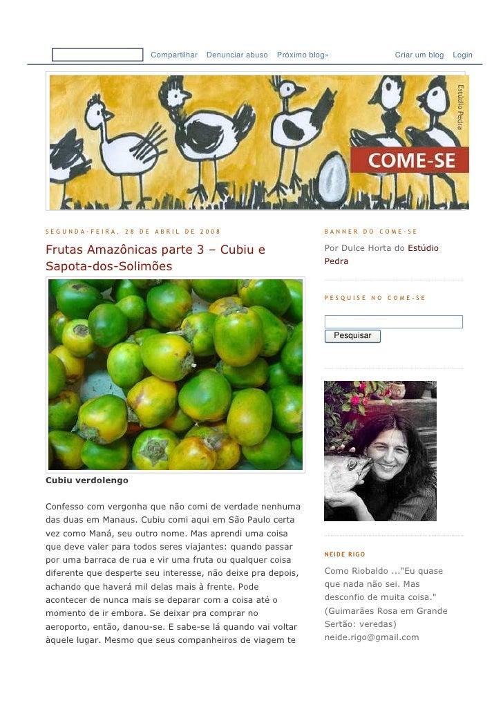 Compartilhar   Denunciar abuso   Próximo blog»               Criar um blog   Login     SEGUNDA-FEIRA, 28 DE ABRIL DE 2008 ...