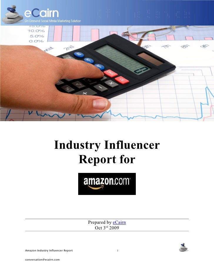 Offre de Services                         Industry Influencer                         Report for                          ...