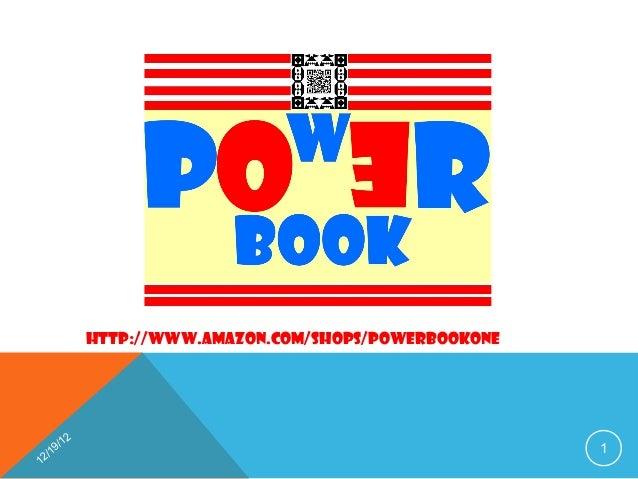 http://www.amazon.com/shops/POWERBOOKONE        12      9/                                                1   /112
