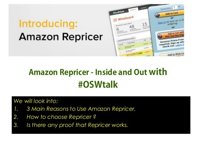 Amazon Repricer Inside and Out