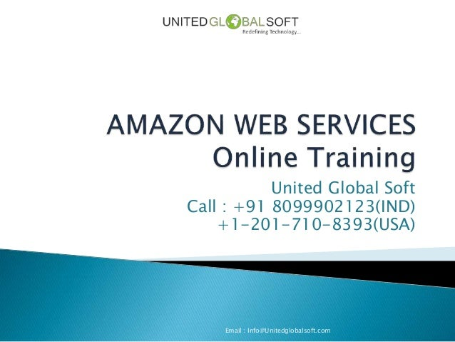 Amazon web services online training in india