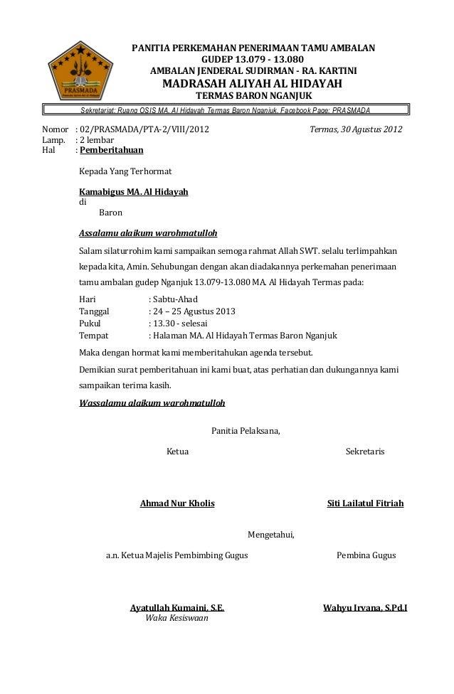 PANITIA PERKEMAHAN PENERIMAAN TAMU AMBALAN GUDEP 13.079 - 13.080 AMBALAN JENDERAL SUDIRMAN - RA. KARTINI  MADRASAH ALIYAH ...