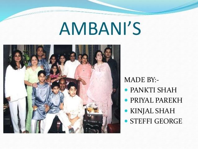 Ambani Clan