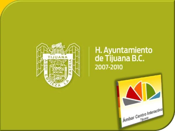 Tijuana, Messico - Ambar 2010 - Prevenzione tossicodipendenza