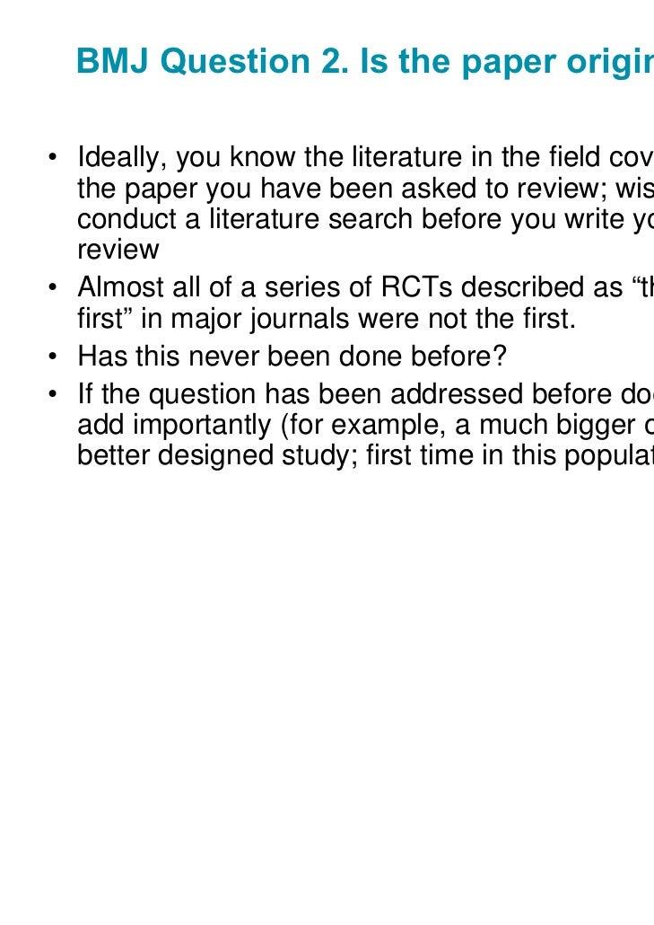 Peer review my paper please?