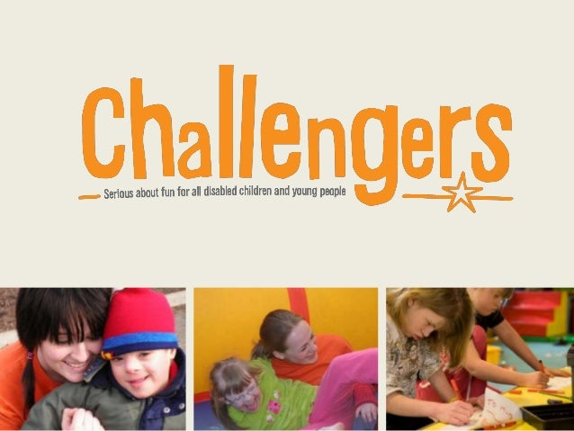 Challengers Ambassadors presentation. Charity mentoring for fundraisers