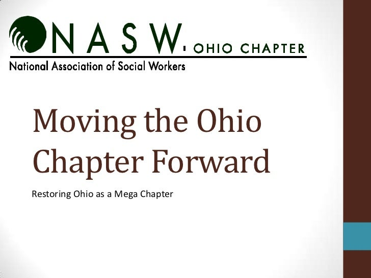 Moving the OhioChapter ForwardRestoring Ohio as a Mega Chapter