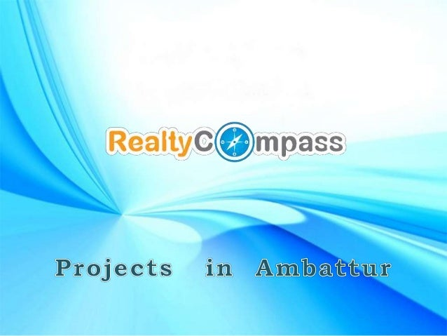 List of Property in Ambattur, Chennai to buy