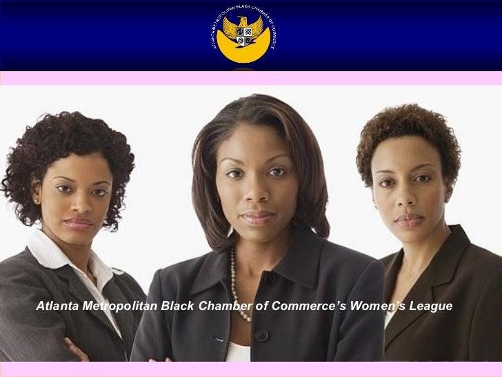 Atlanta Metropolitan Black Chamber of Commerce's Women's League