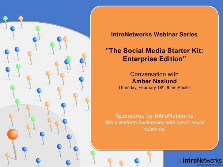 Social Media Starter Kit: Enterprise Edition with Amber Naslund