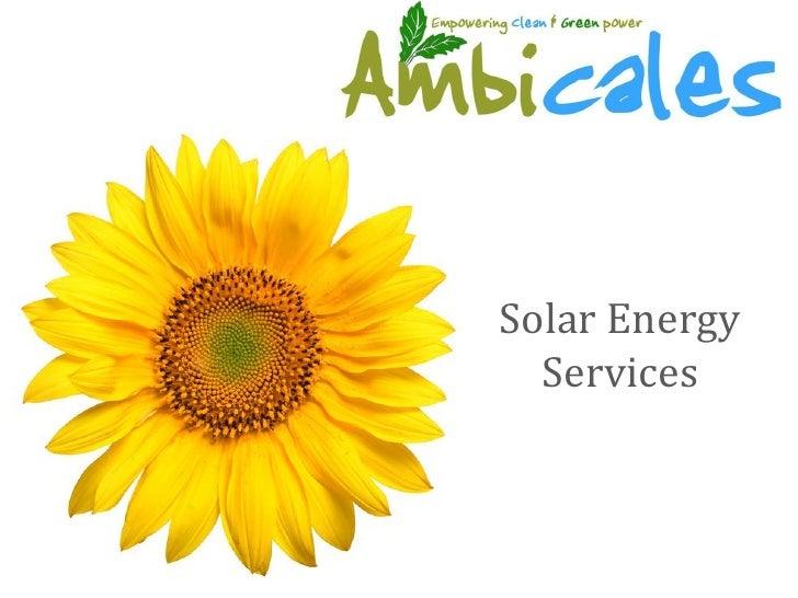 Ambicales Solar