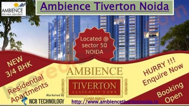 Ambience Tiverton Noida http://www.ambiencetivertonnoida.in