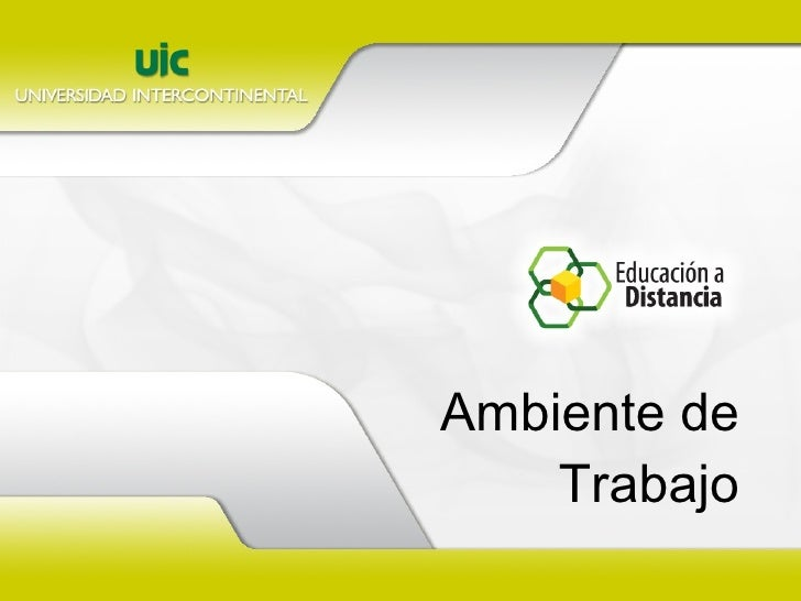 AMBIENTE DE TRABAJO.ppt