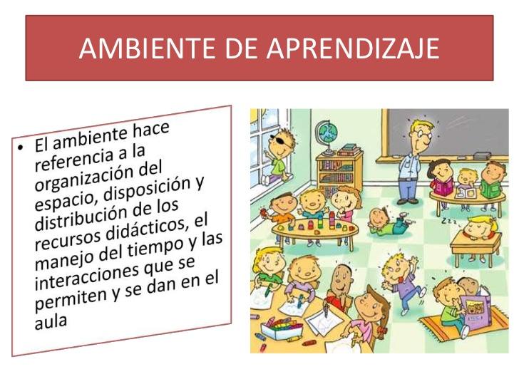 Ambiente de aprendizaje presentacion
